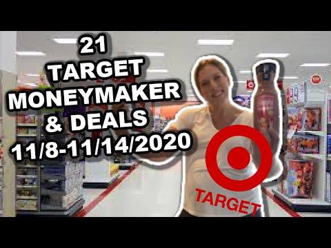 21 TARGET MONEYMAKERS & DEALS (11/8-11/14/2020) WITH PRINTABLE BREAKDOWN!