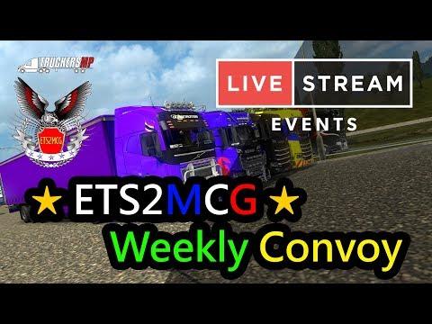 【 LIVE 】Euro Truck Simulator 2 - ETS2MCG Team l Frankfurt - Stuttgart -Salzburg [4/4/2018]