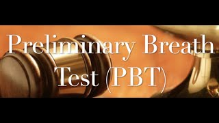The Behan Law Group, P.L.L.C. Video - PBT - Just say NO!