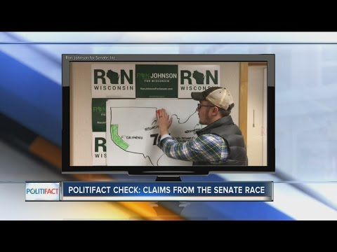 PolitiFact Wisconsin: Claims from the Senate race