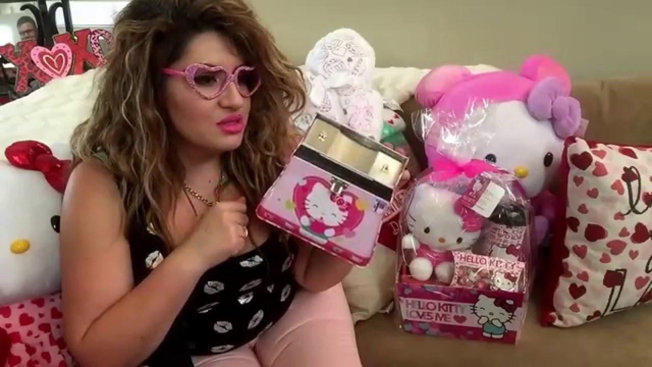 Valentine S Day Gift Ideas Hello Kitty Explosion Haul From Dollar Tree Kmart Cvs Walgreens 99cent Youtube