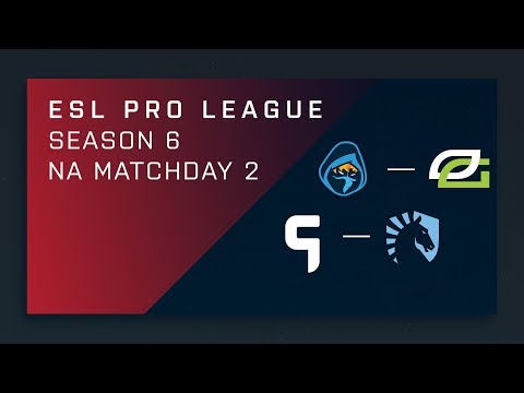 CS:GO - Rogue vs. OpTic [Mirage] Map 2 - Day 2 ESL Pro League S6 - NA 2nd Stream