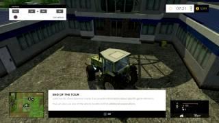 Farming Simulator 2015 (Ps3) Tutorial