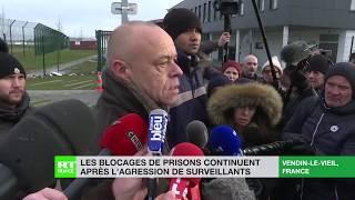 """""""Prisons mortes"""": Le personnel pénitentiaire se mobilise à nouveau à Vendin-le-Viel"""