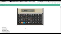 HP12C Financial Calculator Use