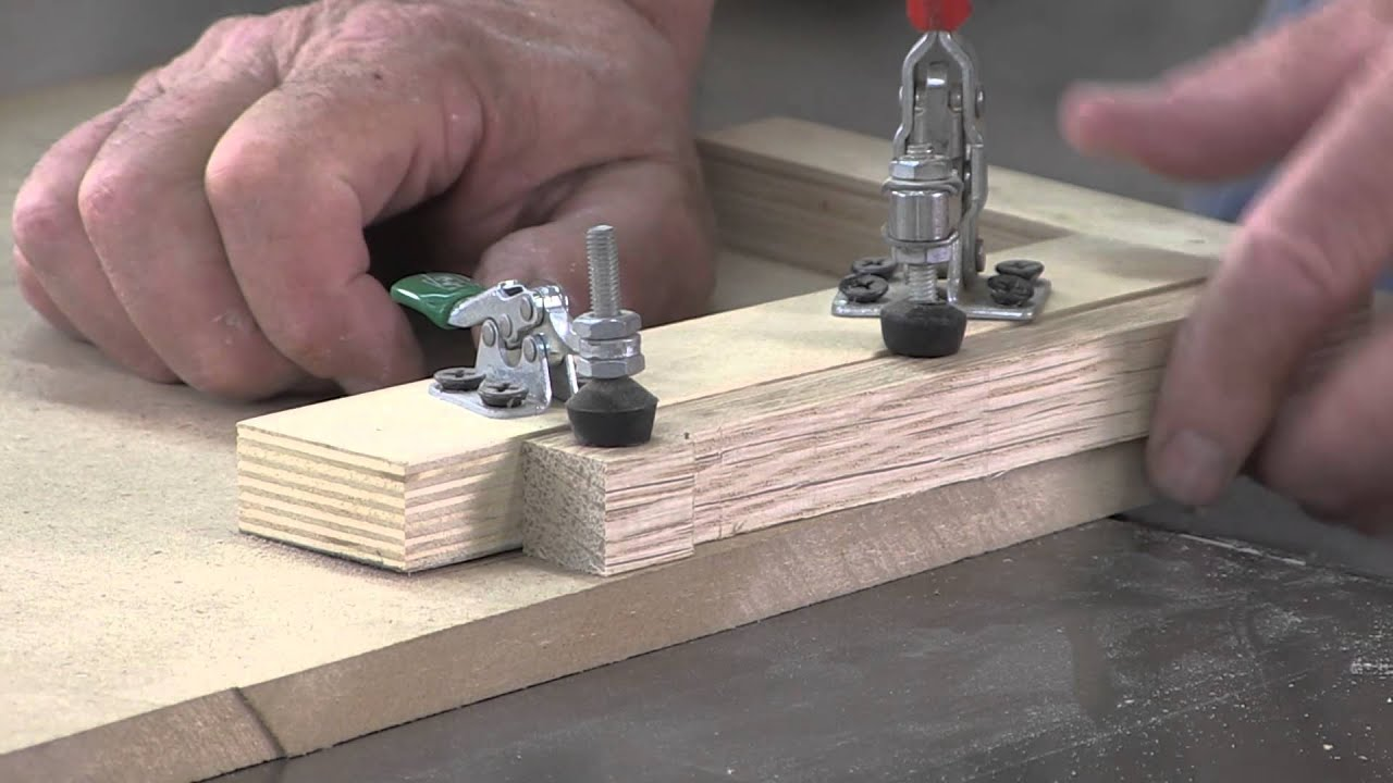 Making A Bench Dog In Five Minutes Youtube