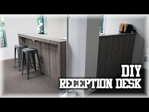 Our DIY Receptionist Desk | Personal Training Studio | Ascension Performance LLC