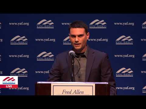 """Ben Shapiro at UCB """"Your Failure is Your Own"""""""