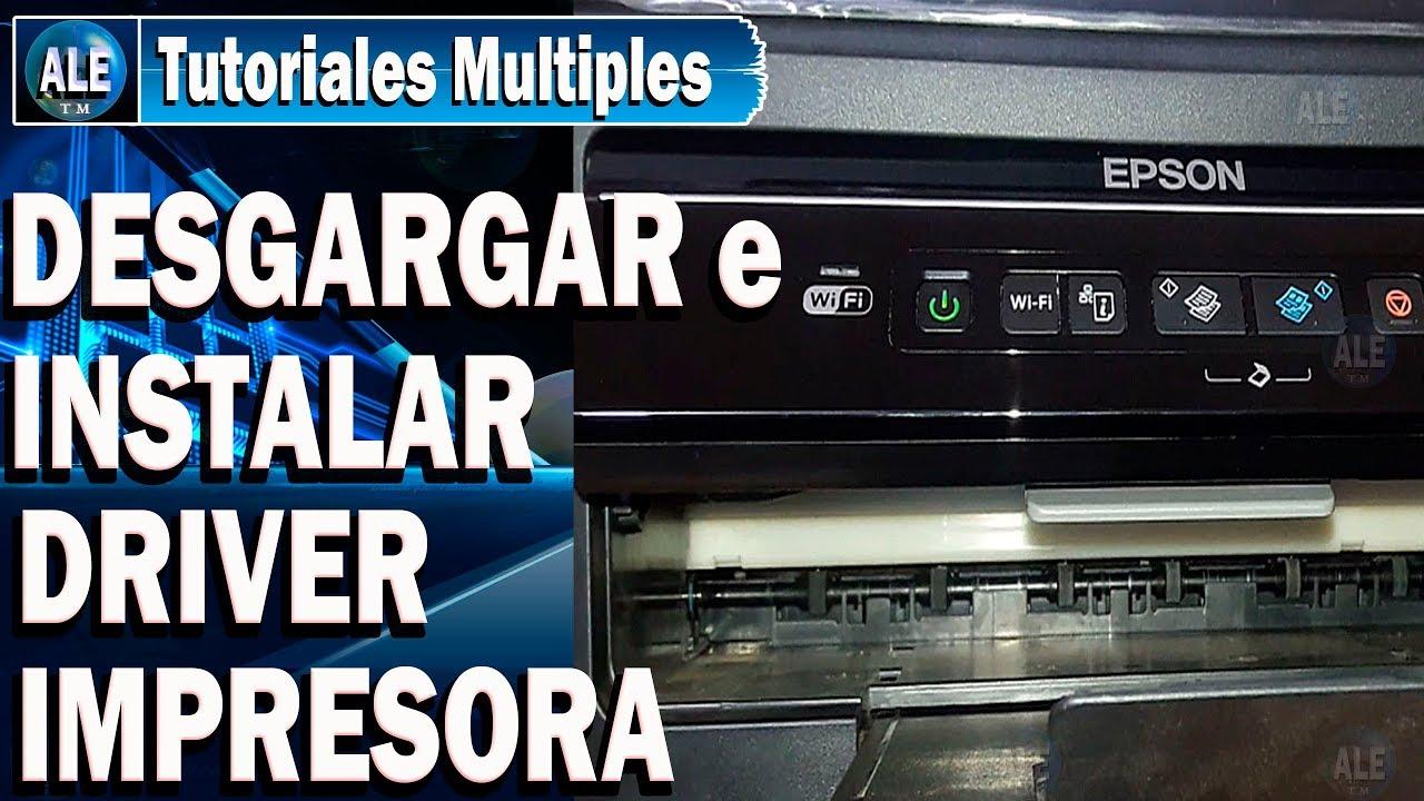 Como Descargar e Instalar Driver impresora Ep…