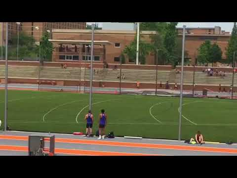 Tusculum 4x100m relay at Tennessee Challenge