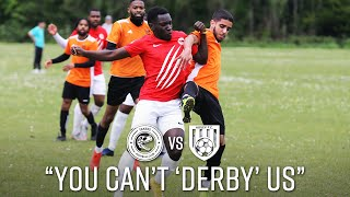"""YOU CAN'T 'DERBY' US"" vs ABBEY FC - SUNDAY LEAGUE FOOTBALL - TAKERS FC"