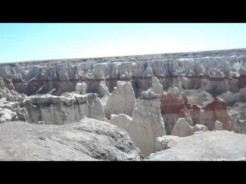 Coal Mine Canyon and Dinosaur Tracks Tuba City, Az  April, 2016