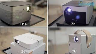 Сравнение XGIMI H1s, Z5,  Z6, CC