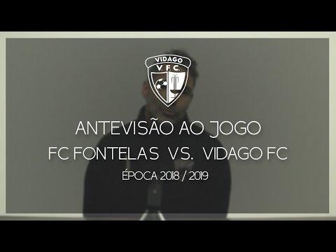 Antevisão ao Jogo - FC Fontelas vs. Vidago FC - 24 Fevereiro [2018/2019] - Vidago FC