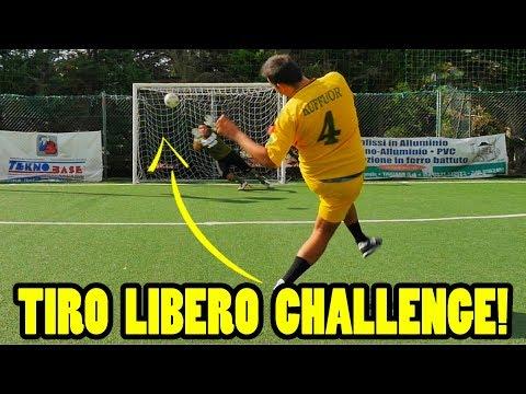TIRO LIBERO CHALLENGE! (con commento telecronisti) // Daniele Brogna