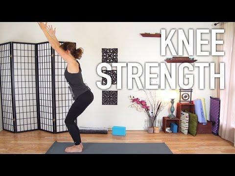 Knee Strengthening Exercises - Yoga For Knee Pain Prevention