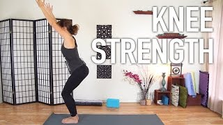 Knee Strengthening Exercises - Yoga For Knee Pain Prevention