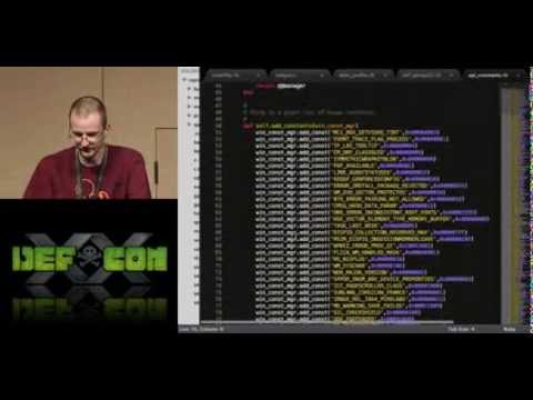 DEFCON 20: Weaponizing the Windows API with Metasploit