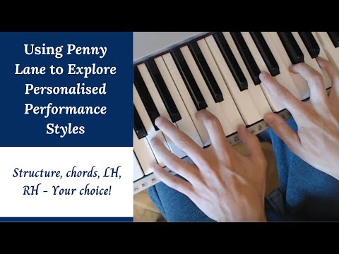 Penny Lane - The Beatles | Piano Tutorial & Chord Analysis