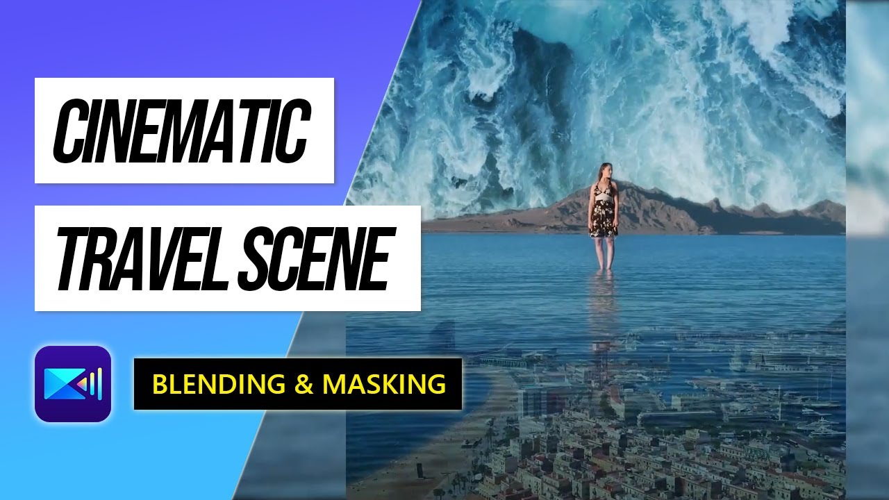 Create a Cinematic Scene by Using Masks and Blending Tools