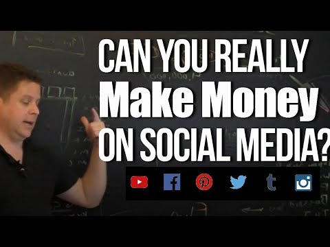How To Make Money On Social Media With Affiliate Marketing | instagram, facebook, twitter, youtube!