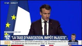 Macron devant les maires :