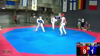 566  Taghiyev, Mehdi, AZE vs  Ruzic, Matija, CRO 4 11
