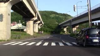 【4倍速】国道37号 伊達市~室蘭市