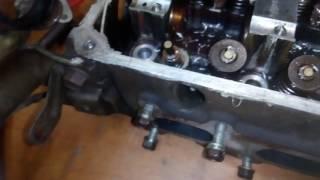 ремонт головки B3 Mazda Demio Ч.1