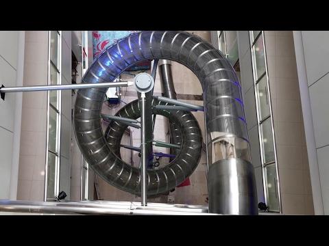 Escalator alternative: Chinese mall builds slide