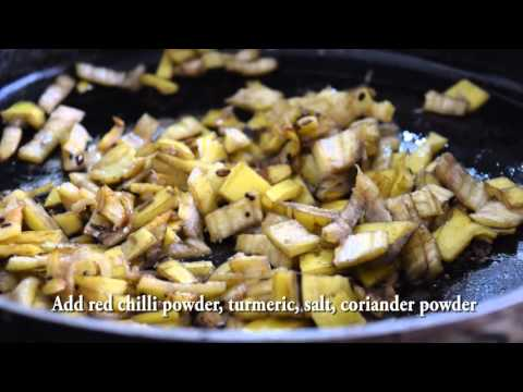 Zero Waste Cooking: Banana Peels Subzi