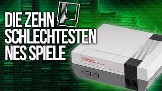 TOP 10 - Die SCHLECHTESTEN NES-Spiele