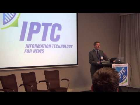 IPTC Machine Readable Rights conference - opening by the IPTC Chair Vincent Baby