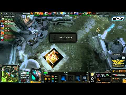Armaggeddon Grand Slam Asia 2013 Singapore Qualifiers - First Departure VS Genocide casted by Afiz