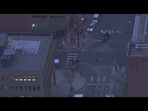 RAW VIDEO: Police outside Boulder post office after suspicious package found