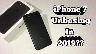 iPhone 7 Unboxing In 2019!!! Is This Phone Still Worth Buying?