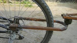 Прицеп для велосипеда з багажника запорожця своїми руками / Bike trailers with luggage