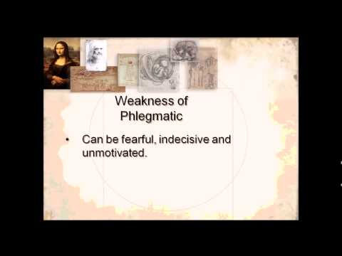 Phlegmatic temperament strengths and weaknesses