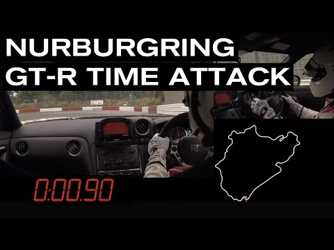 NISSAN GT-R NISMO - FULL GTR ONBOARD, GPS, TIME, COMMENTARY - NURBUGRING RECORD LAP