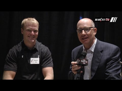 2015 American Football Media Day: Dan Hoard and Gunner Kiel