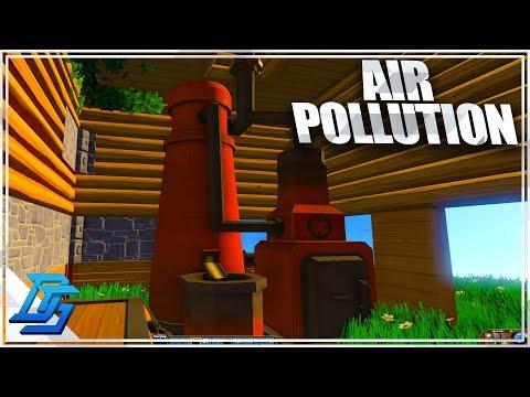 Blast Furnace, AIR POLLUTION, SUPER HIGHWAY?!? ! - ECO Global Survival - Pt.5