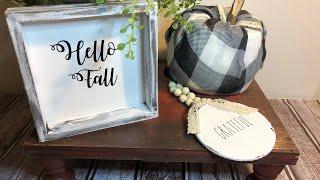 Dollar Tree  DIY Fall Decor | Collab LifeAt50&Beyond
