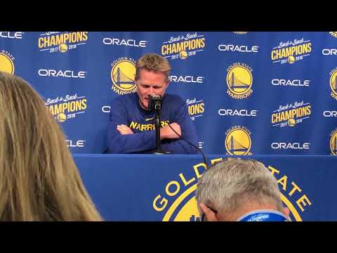 Steve Kerr discusses passing of Willie McCovey