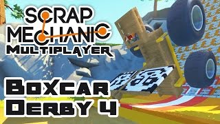 Boxcar Derby 4: The Yarr-Car Derby - Let's Play Scrap Mechanic Multiplayer - Part 229