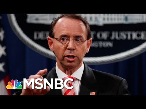 Behind The Scenes, Most GOP Support Deputy Attorney General Rod Rosenstein | Morning Joe | MSNBC