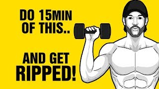 Burn Fat Fast With This 15min Full Body Dumbbell Home Workout - This Works - Lose Belly Fat