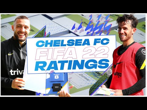 """Only 82 pace?!"""" 🙄😮 Chelsea Players Discover Their FIFA 22 Ratings 👀"""