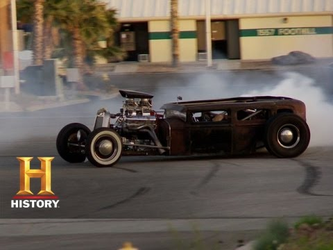 counting cars rat rod in action history youtube