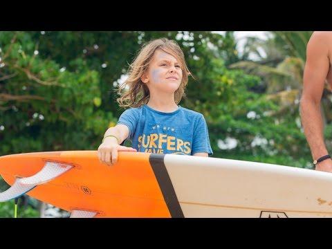 Tape à l'oeil - #ORIGINALKIDS n°1 : Tobias, 9 ans, passionné de surf