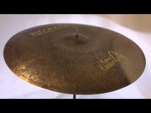 """Istanbul Mehmet 61st Anniversary Vintage Ride Cymbal 22"""" - 2302 grams"""